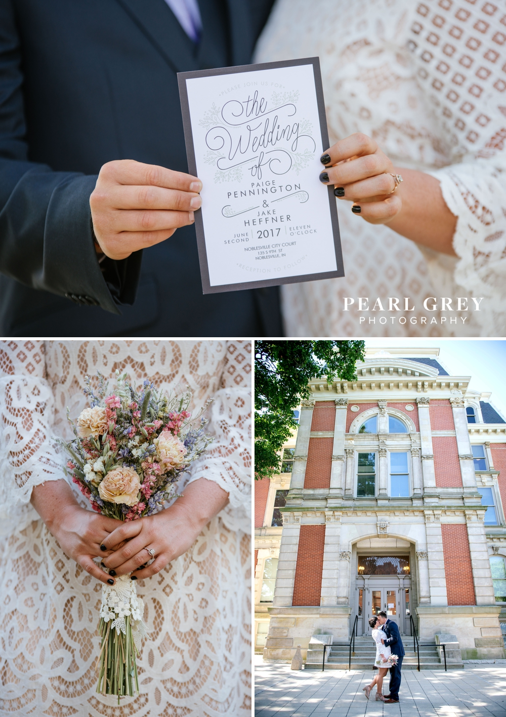NoblesvilleCourthouseWedding 1
