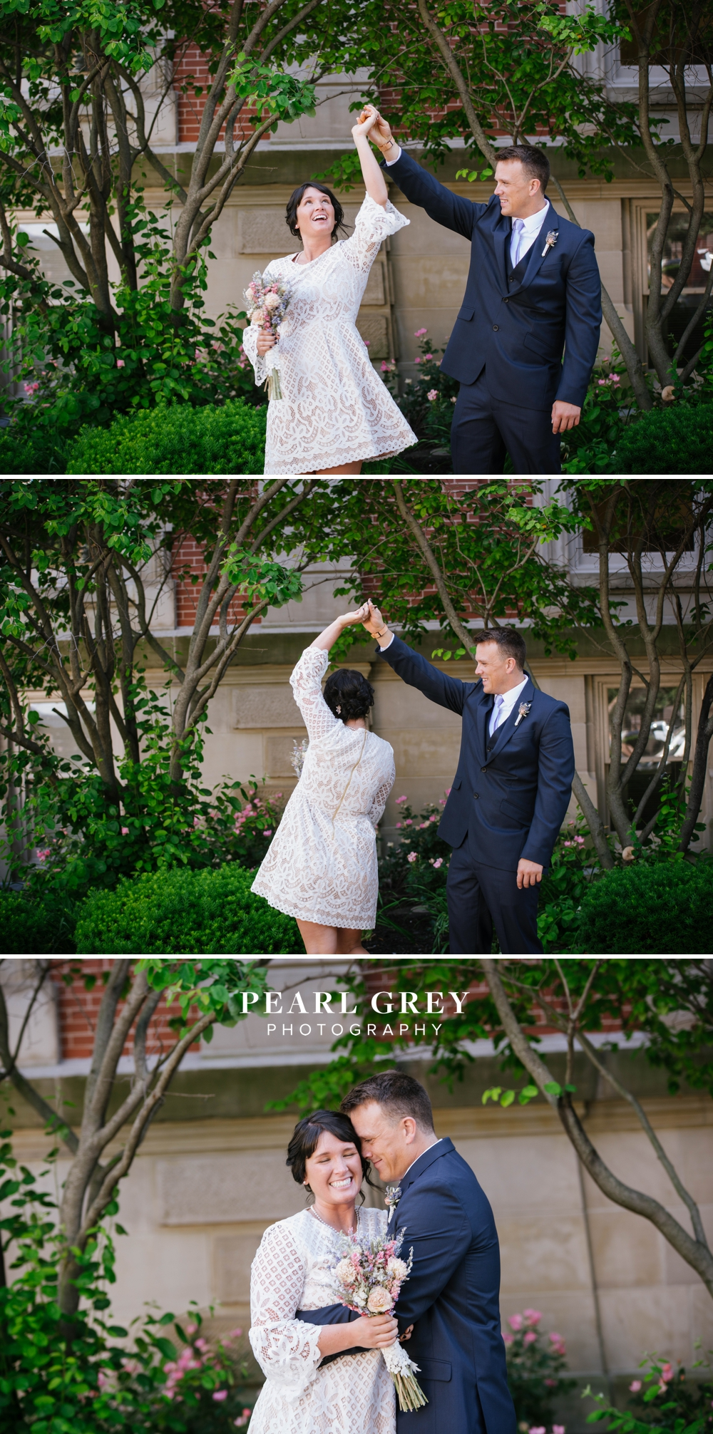 NoblesvilleCourthouseWedding 5