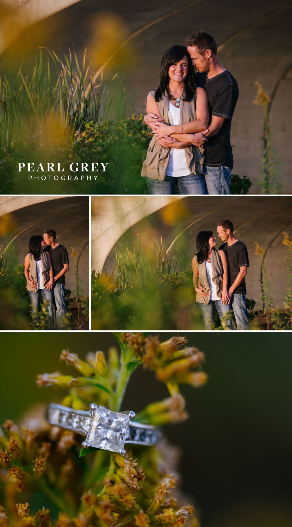 Fall Engagement Session at Coxhall Gardens, Carmel IN